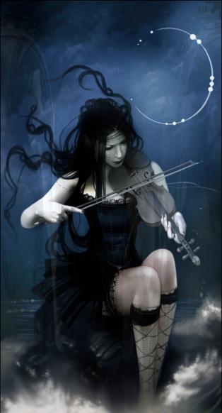 Ange Qui Pleure ange-noir - c'est un ange qui a perdu sa lumière à force de pleurer